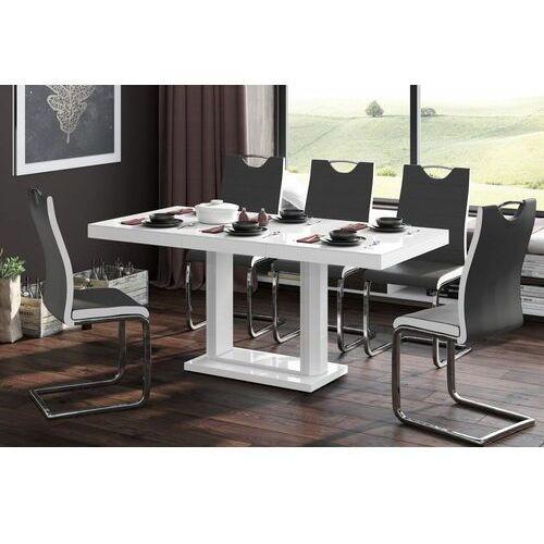 Stół rozkładany QUADRO 120-168 Biały mat, HS-0094