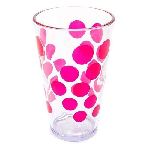 Zak! - Szklanka 300ml, różowa ODBIERZ RABAT 5% NA PIERWSZE ZAKUPY, 0896-1400E (6425130)