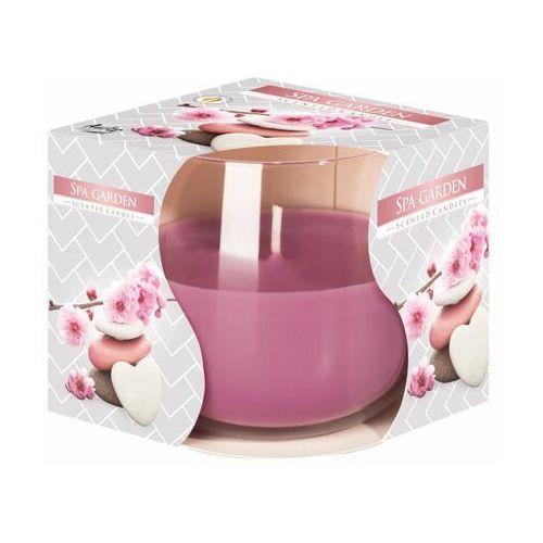 Świeca zapachowa w szkle SPA GARDEN kwiatowo-owocowa (5906927031620)