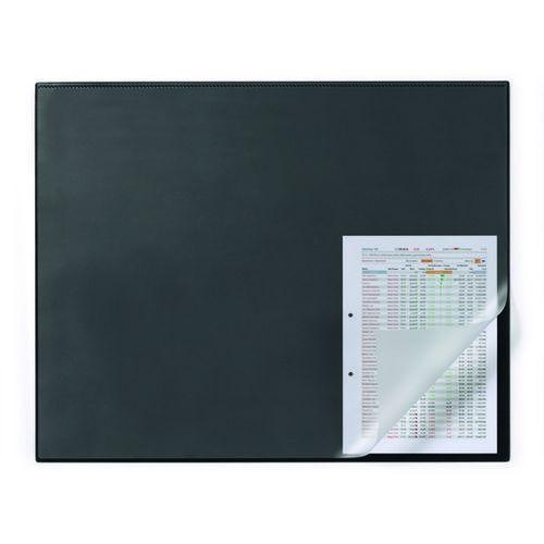 Durable Podkład na biurko z zabezpieczeniem krawędzi 65x50 cm. czarny