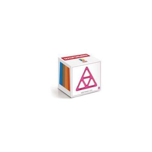 Klocki magnetyczne 3D Magformers Super trójkąty 12 elementów