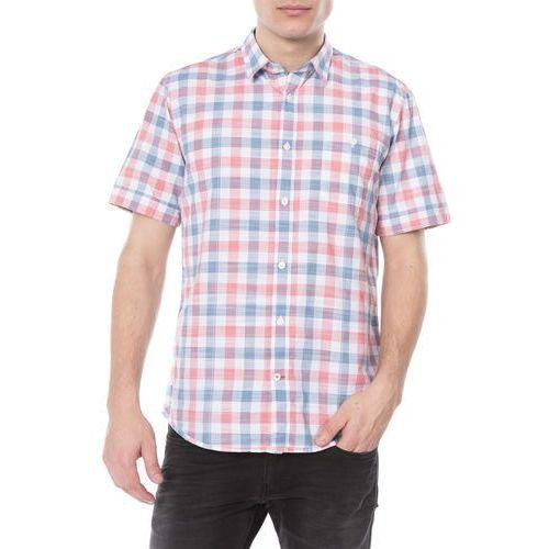 Tom Tailor Koszula Niebieski Czerwony Biały M, kolor niebieski