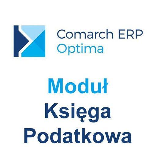 Comarch s.a. Comarch erp optima moduł księga podatkowa