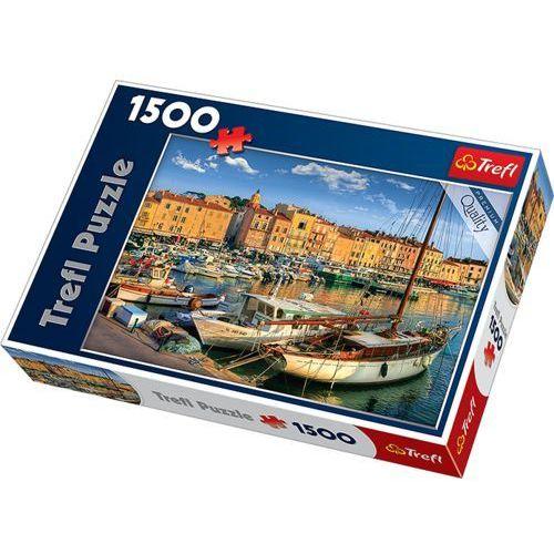 Trefl puzzle 1500. stary port w saint tropez
