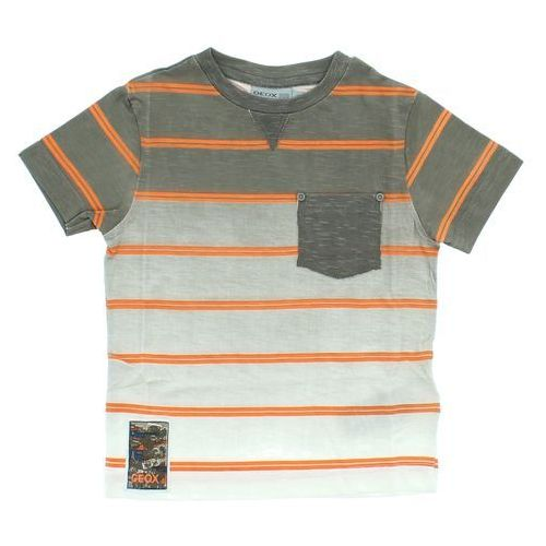 Geox T-shirt dziecięcy Brązowy Pomarańczowy 10 lat