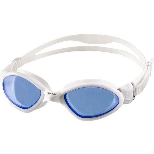 Head Tiger Mid Okulary pływackie niebieski/biały 2018 Okulary do pływania