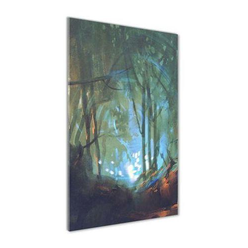 Foto obraz akrylowy do salonu Mistyczny las