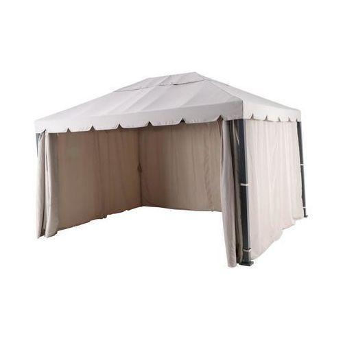 Naterial Pawilon ogrodowy 3 x 4 m ysis brązowo-szary z moskitierą (3276000690689)