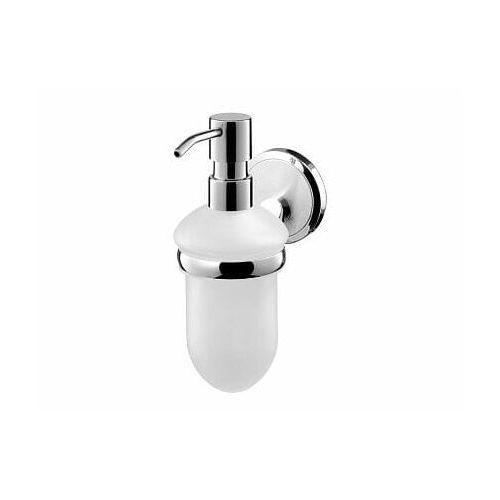 BISK SENSATION Dozownik mydła z uchwytem, chrom + chrom mat 03095