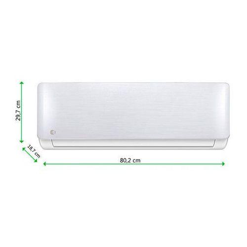 ms12fu-18 mocny klimatyzator ścienny klimatyzacja split 5.3 kw wi-fi,pompa ciepła z funkcją grzania - inwerter (komplet) - ewimax oficjalny dystrybutor - autoryzowany dealer equation marki Equation