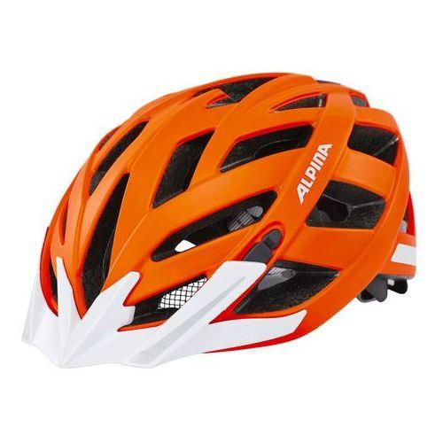 Alpina panoma city kask rowerowy pomarańczowy 56-59 cm 2018 kaski rowerowe