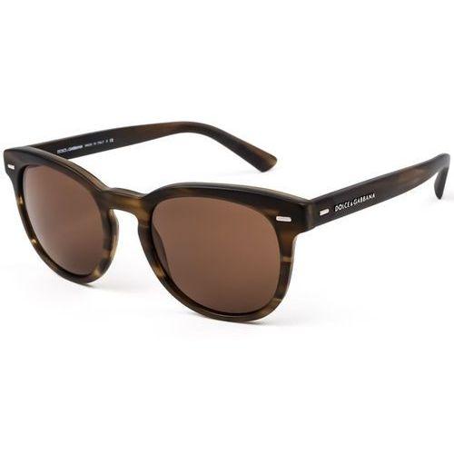 Okulary słoneczne dg4254 gentleman 296473 marki Dolce & gabbana