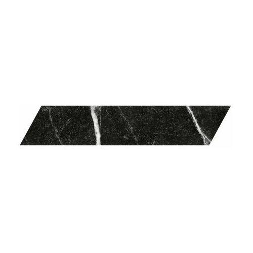 Absolut keramika Gres szkliwiony tinos chevron black 8 x 40 keramika