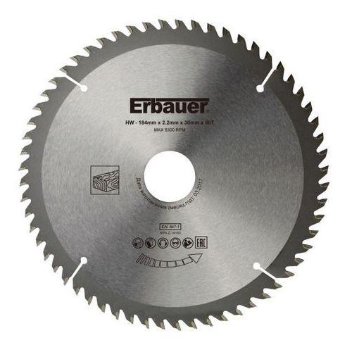 Erbauer Tarcza do drewna 184 x 30/20/16 mm 60t (3663602812944)