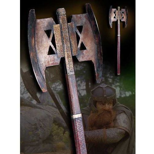 Topór bojowy gimliego - lotr battle axe of gimli - noble collection (nn2222) marki The noble collection