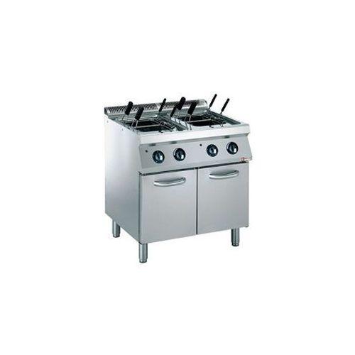 Urządzenie do gotowania makaronu 2x 24,5L | el. 400V | 800x700x(H)850/920mm