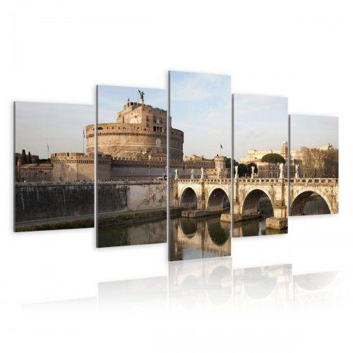 Obraz - Most św. Anioła o poranku