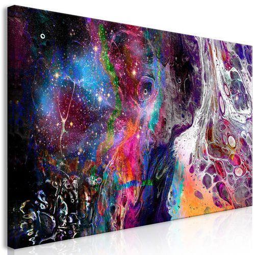 Obraz - Kolorowa galaktyka (1-częsciowy) szeroki