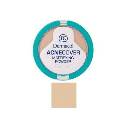 Dermacol Acnecover Mattifying Powder | Matujący puder do cery problematycznej Honey 04 11g