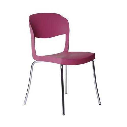 Krzesło Evo Strass Green fioletowe