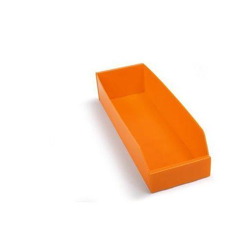 Skrzynki regałowe z tworzywa, składane, dł. x szer. x wys. 450x150x100 mm, pomar marki K bins limited