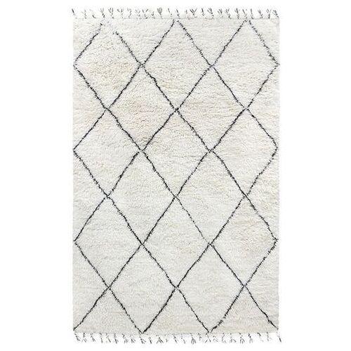Hkliving dywan wełniany berberyjski czarno-biały (200x300) ttk3031 (8718921022224)