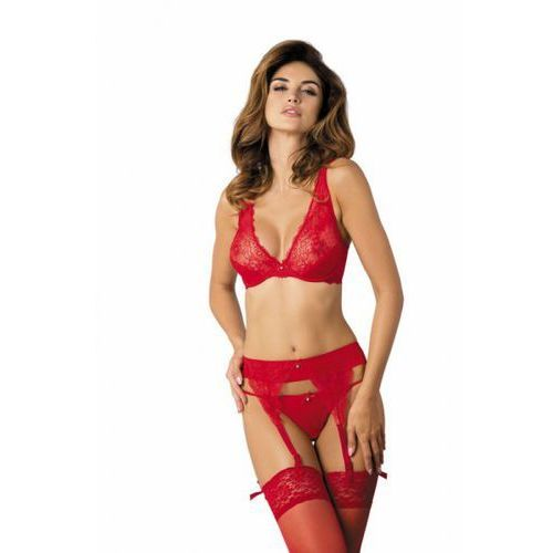 Pas do pończoch model ppn scarlet red, Gorteks