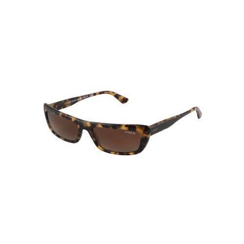 okulary przeciwsłoneczne 'bella' brązowy / żółty marki Vogue eyewear