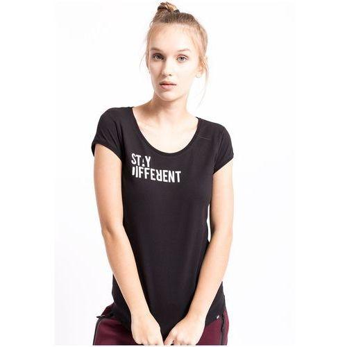 T-shirt damski TSD260z - czarny, kolor czarny