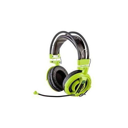 Zestaw słuchawkowy E-Blue Cobra I (EHS013GR) Zielony