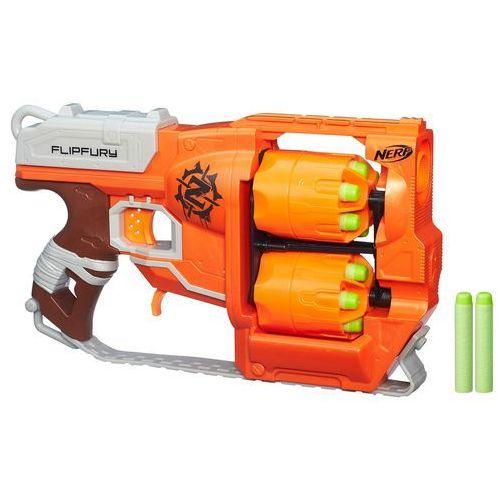 Pistolet nerf zombie strike - flipfury firmy marki Hasbro
