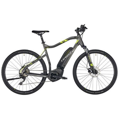 """Haibike sduro cross 4.0 rower elektryczny crossowy szary 52cm (28"""") 2018 rowery elektryczne"""