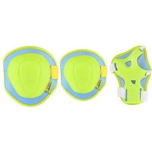 Zestaw ochraniaczy NILS EXTREME H106 Zielono-niebieski ( Rozmiar S )