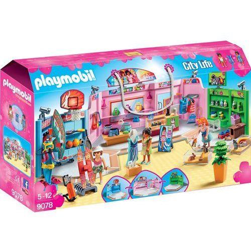 Playmobil CITY LIFE Pasaż handlowy 9078
