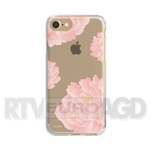 Etui FLAVR iPlate Pink Peonies do Apple iPhone 6/7/6s/8 Wielokolorowy (30033), kolor wielokolorowy