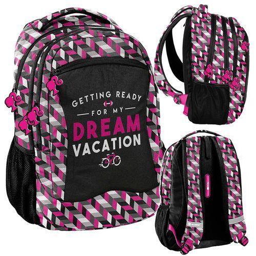 Plecak młodzieżowy Barbie różowo-czarny