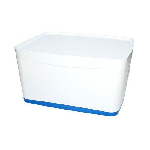 Esselte Pojemnik duży z pokrywką biało/niebieski mybox leitz
