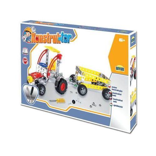 zestaw konstrukcyjny - konstruktor, 206 elementów traktor marki Dromader