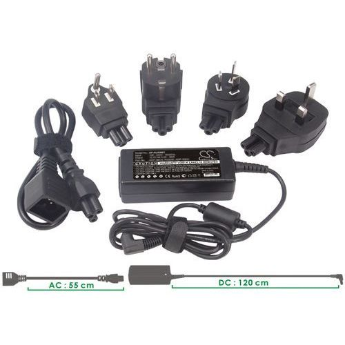 Cameron sino Zasilacz sieciowy hp ac-c14 100-240v 18.5v-3.5a. 65w wtyczka 4.8x1.7mm ()