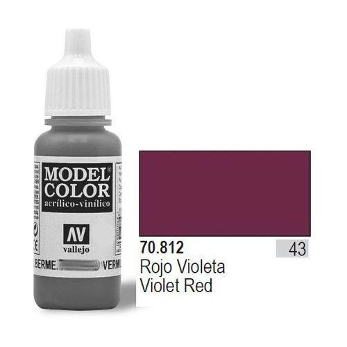 Farba nr43 violet red matt 17ml marki Vallejo