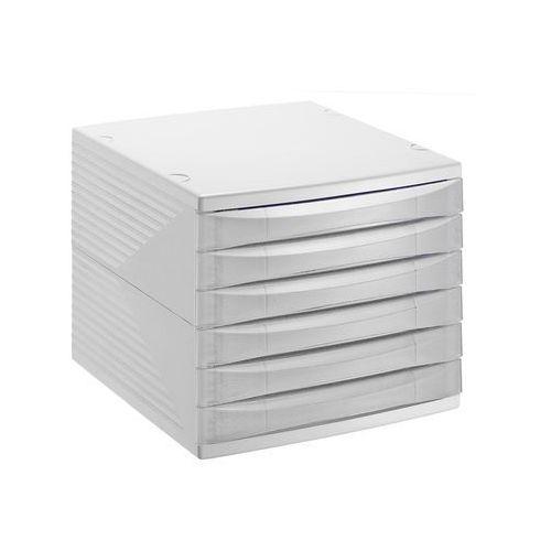 Szafka na dokumenty quadra z 6 szufladami -roto marki Florentyna