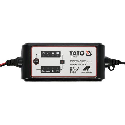 Prostownik elektroniczny 6-12v/4a / yt-83032 / - zyskaj rabat 30 zł marki Yato