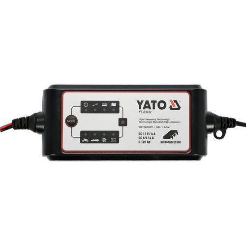 Yato Prostownik elektroniczny 6-12v/4a / yt-83032 / - zyskaj rabat 30 zł