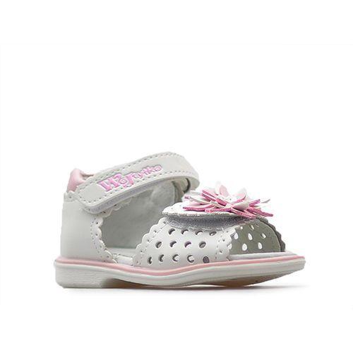 Sandały 3s1218mix białe marki Wojtyłko