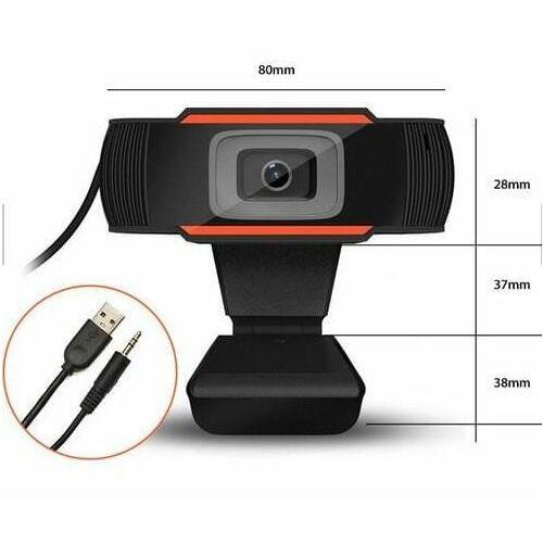 Duxo Kamera internetowa 720p, hd, wbudowany mikrofon, automatyczny balas bieli, webcam-x11