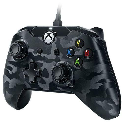 Pdp Kontroler camo czarny (xbox one/pc) + zamów z dostawą jutro! (0708056061852)