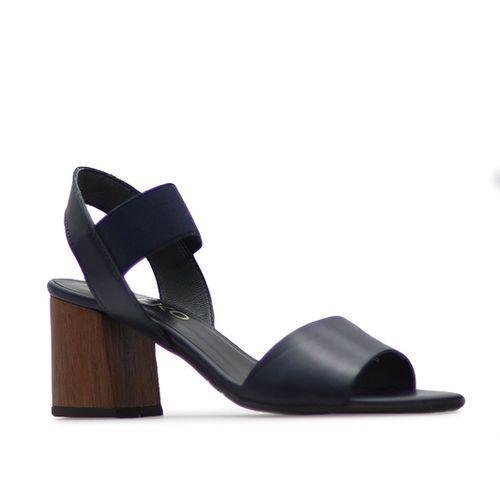 Sandały Ryłko 6TFD9_781 Granatowe lico
