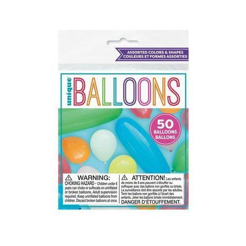 Unique Zestaw balonów hit 25 - 50 szt. (0011179051007)