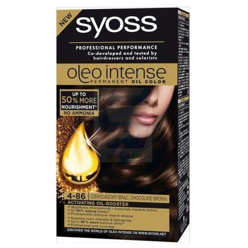 Syoss  oleo intense farba do włosów nr 4-86 czekoladowy brąz (9000100890915)