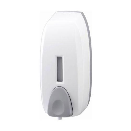 Bisk Dozownik do mydła w pianie 0,75 litra plastik biały (5901487029230)